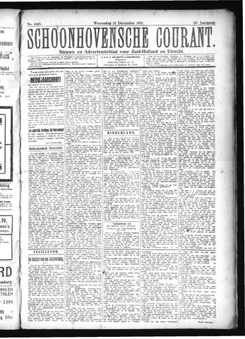 Schoonhovensche Courant 1921-12-21