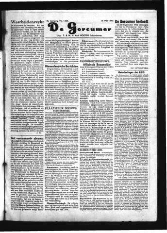 Schoonhovensche Courant 1945-05-15
