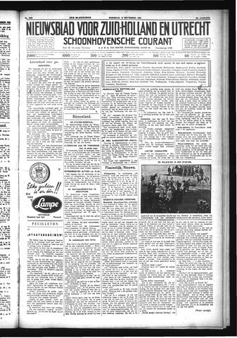 Schoonhovensche Courant 1933-09-13