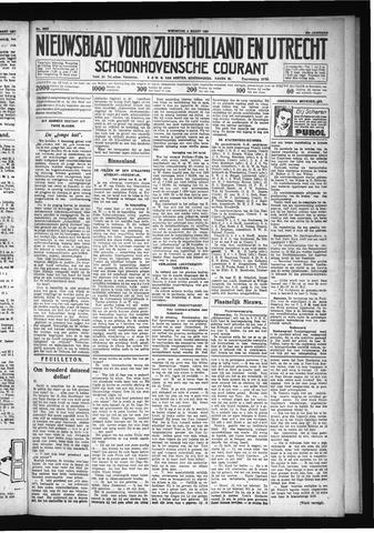 Schoonhovensche Courant 1931-03-04