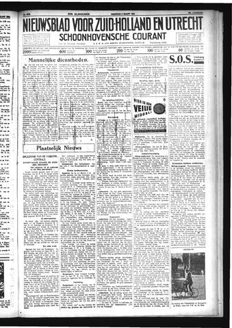 Schoonhovensche Courant 1934-03-05