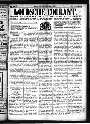 Goudsche Courant 1927-08-20