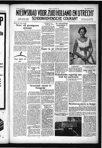 Schoonhovensche Courant 1957-08-02