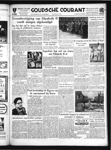 Goudsche Courant 1952-02-07