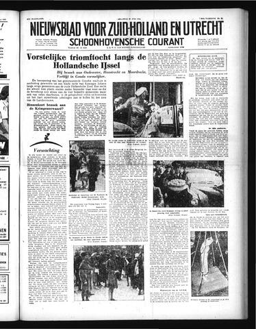 Schoonhovensche Courant 1952-07-21