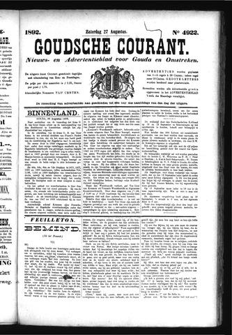Goudsche Courant 1892-08-27