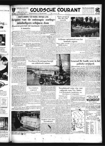 Goudsche Courant 1954-04-08