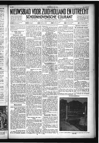 Schoonhovensche Courant 1932-06-15