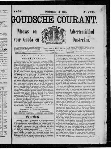 Goudsche Courant 1864-07-14