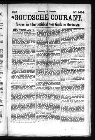 Goudsche Courant 1881-11-30