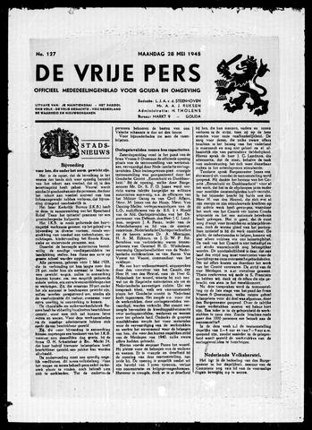 De Vrije Pers 1945-05-28