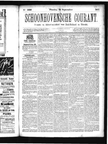 Schoonhovensche Courant 1917-09-18