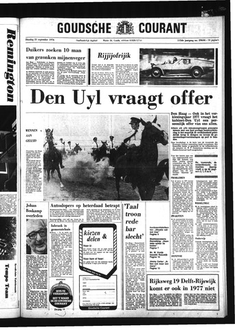 Goudsche Courant 1976-09-21
