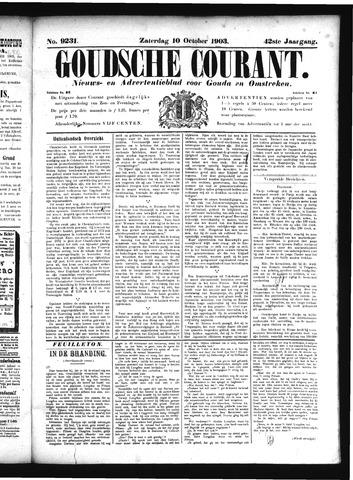 Goudsche Courant 1903-10-10
