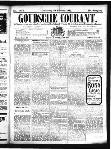 Goudsche Courant 1912-02-29