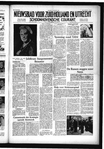 Schoonhovensche Courant 1953-08-31
