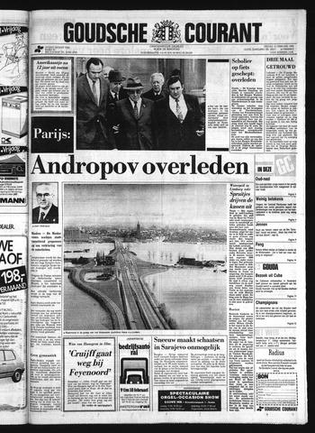 Goudsche Courant 1984-02-10