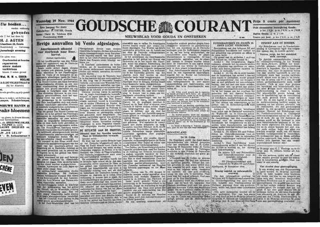 Goudsche Courant 1944-11-29