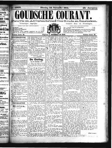 Goudsche Courant 1914-11-24
