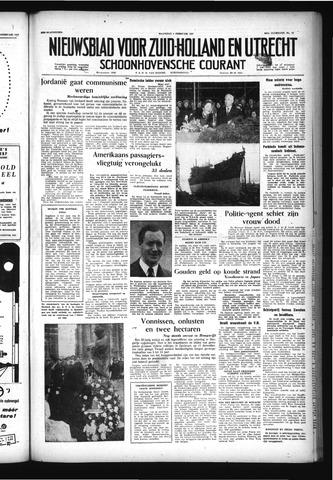 Schoonhovensche Courant 1957-02-04