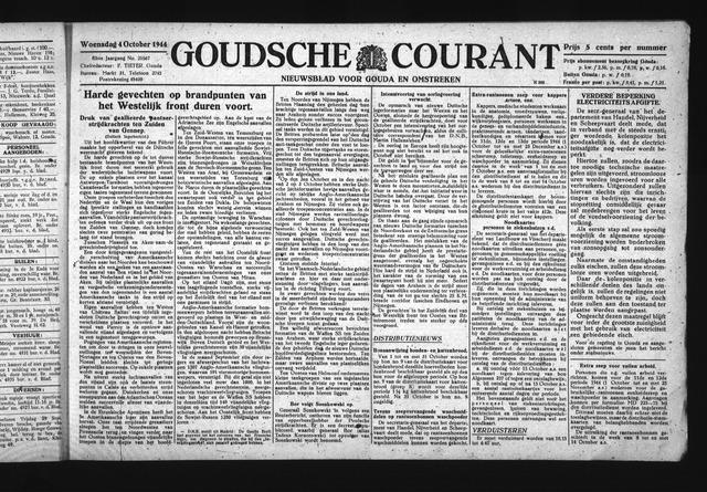 Goudsche Courant 1944-10-04