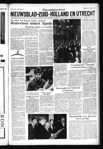 Schoonhovensche Courant 1962-09-28