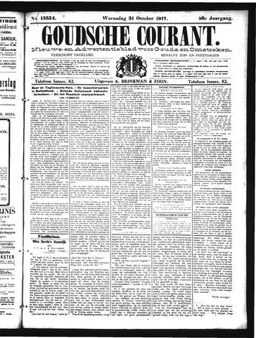 Goudsche Courant 1917-10-31