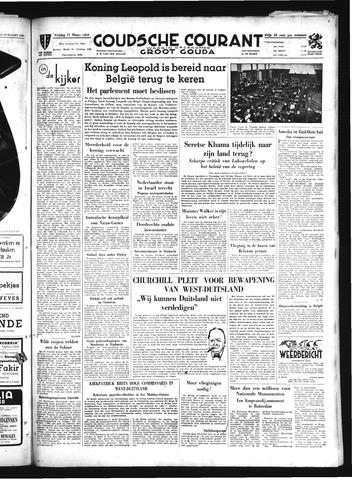 Goudsche Courant 1950-03-17