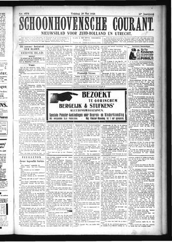 Schoonhovensche Courant 1925-05-29