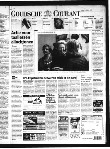 Goudsche Courant 2002-10-04