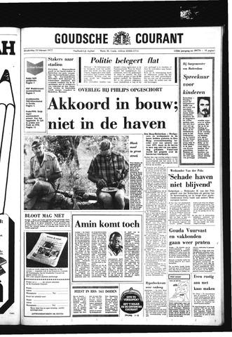 Goudsche Courant 1977-02-24