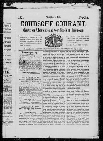 Goudsche Courant 1871-04-05