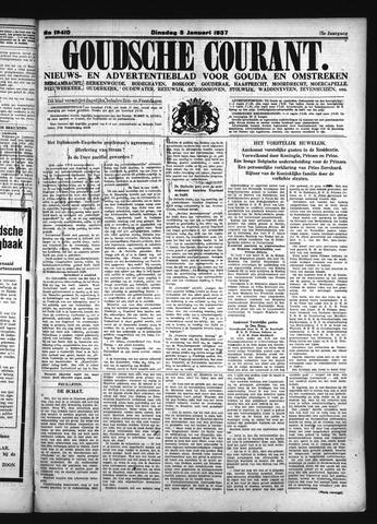 Goudsche Courant 1937-01-05