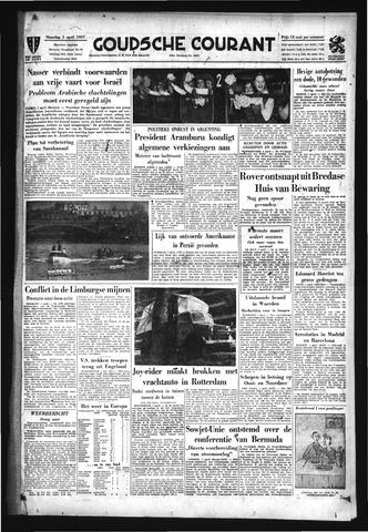 Goudsche Courant 1957-04-01