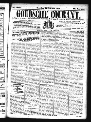 Goudsche Courant 1919-02-24