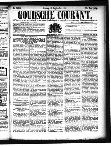 Goudsche Courant 1921-09-13