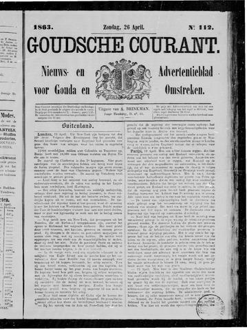 Goudsche Courant 1863-04-26