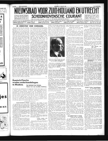 Schoonhovensche Courant 1940-03-11