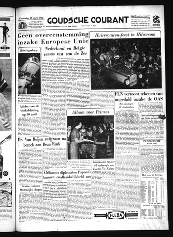 Goudsche Courant 1962-04-18