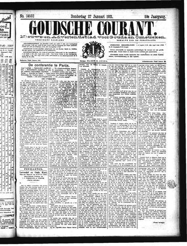 Goudsche Courant 1921-01-27