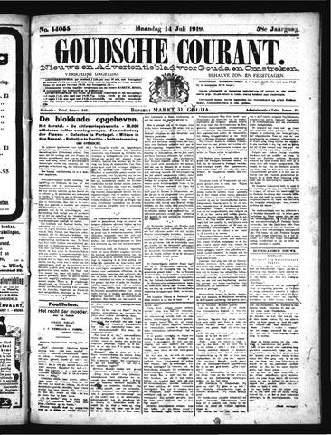 Goudsche Courant 1919-07-14