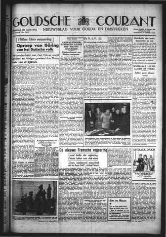 Goudsche Courant 1942-04-20
