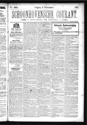 Schoonhovensche Courant 1917-11-09