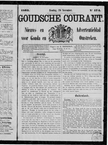 Goudsche Courant 1863-11-29