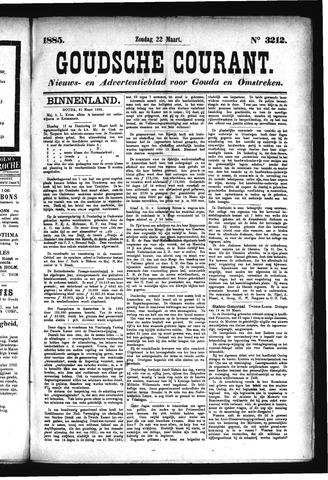 Goudsche Courant 1885-03-22