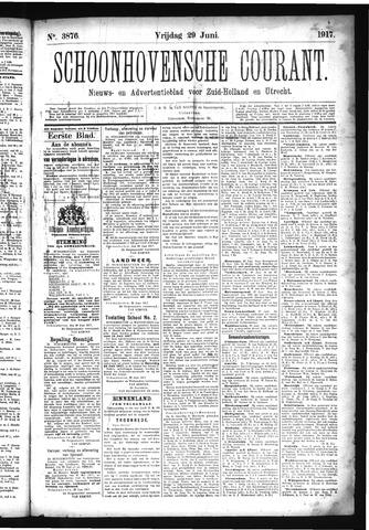 Schoonhovensche Courant 1917-06-29