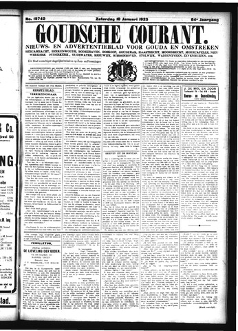 Goudsche Courant 1925-01-10
