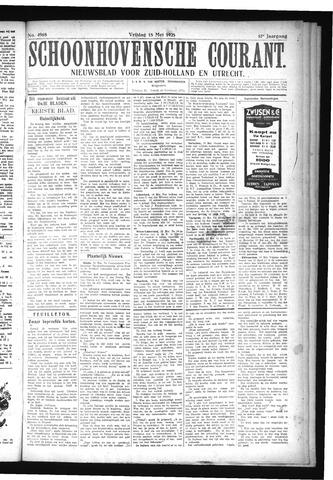 Schoonhovensche Courant 1925-05-15