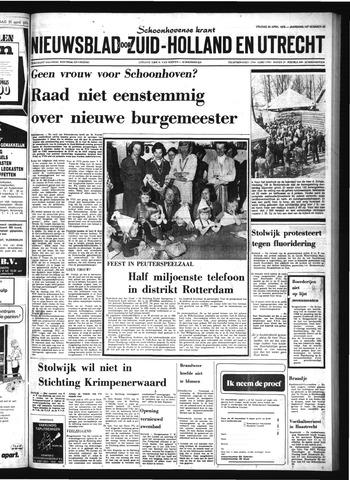 Schoonhovensche Courant 1976-04-23