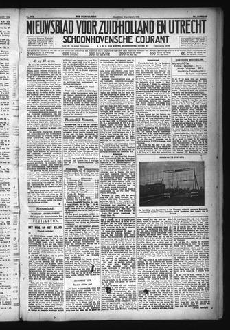 Schoonhovensche Courant 1933-01-16